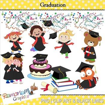 Graduation Clip Art By Ramonam Graphics Teachers Pay Teachers