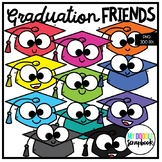 Graduation Friends (Clip Art for Personal & Commercial Use)