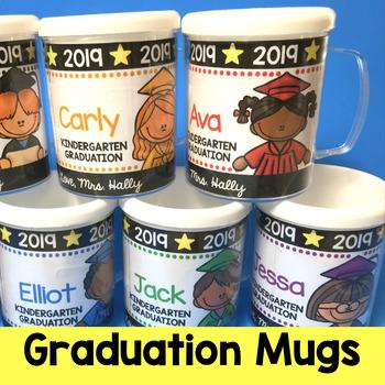 Graduation Gift - Decorations - Kindergarten Pre-K  Preschool - End of the Year