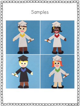Graduation Glyph {A Fun End of the Year Craftivity and Memory Booklet}