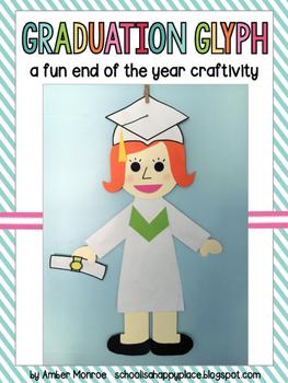 Graduation Glyph {A Fun End of the Year Craftivity and Mem