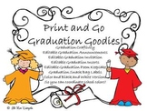 Graduation Goodies and Craftivity!