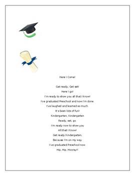 Graduation Handprint Poem