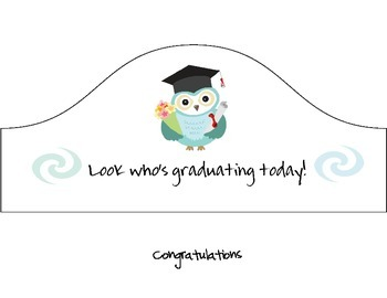 Graduation Hat- Owl Theme