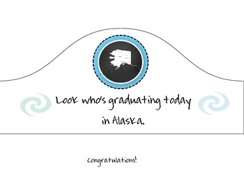 Graduation Hat for Alaska