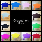 Graduation Hats - 6 inches wide