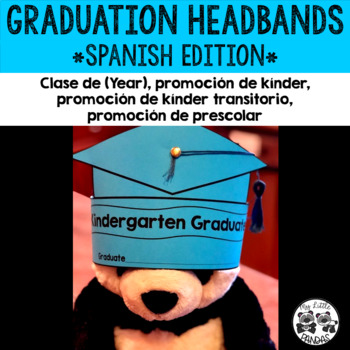Graduation Hat Headband *Spanish Edition*