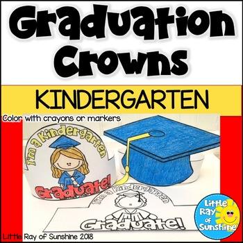 Graduation Hats Kindergarten