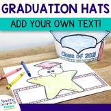Kindergarten Graduation Hat with Editable Text | Graduation Crown
