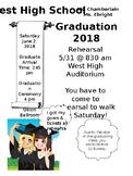 Graduation Information Sheet