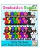 Graduation Kids, Caps, Diplomas Bundle {Clip Art for Teachers}
