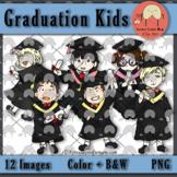 Graduation Kids' Clip Art