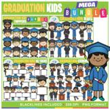 Graduation Kids Clip Art BUNDLE!