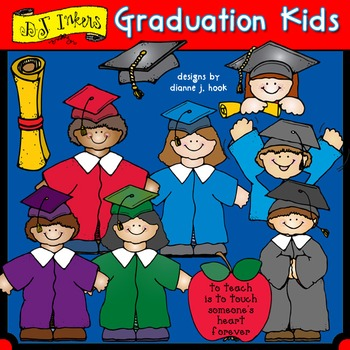 Graduation Kids Clip Art Download