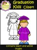 Graduation Kids Clip Art (School Designhcf)