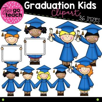 Graduation Kids Clipart