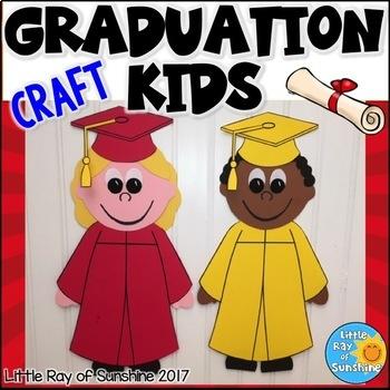 Graduation Craft For Kindergarten Preschool For May Or June Tpt