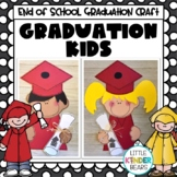 Kindergarten Graduation Kids Craft and Writing Activities for End of Year