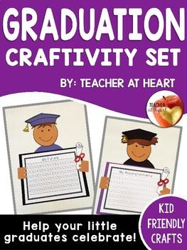 Graduation Kids Craftivity