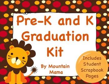 Graduation Kit for Preschool, Pre-K, and Kindergarten