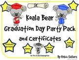 Graduation ~ Koala Bear Graduation Day Party Pack and Grad