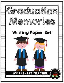 Graduation Memories Writing Paper Set