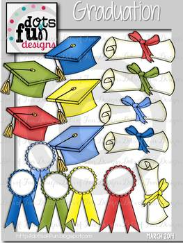 Graduation Mini Set ~Dots of Fun Designs~