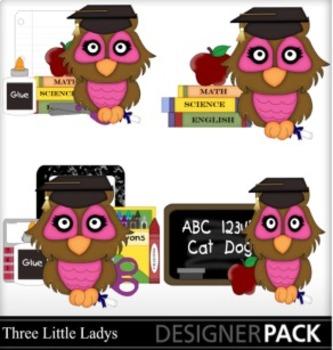 Graduation Owl Girls