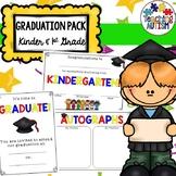 Kindergarten and First Grade Graduation Ceremony Pack