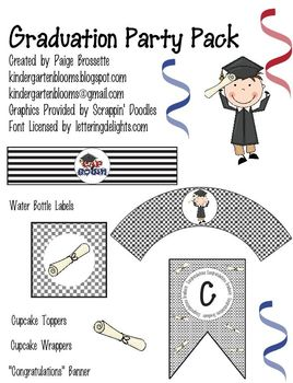 Graduation Party Packet