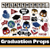 Graduation Photo Booth Props and Decorations - Class of 2019 Party Printables