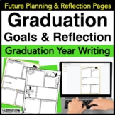Graduation Goals and Reflections For High School and Life - EDITABLE