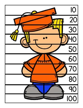 Graduation Skip Counting Puzzles