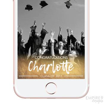 Graduation Snapchat Filter