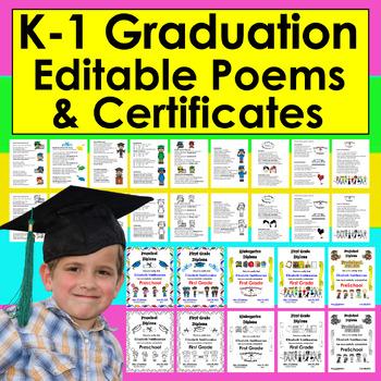 Graduation Songs/Poems/Diplomas-Pre-K-Gr.1