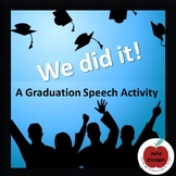 Graduation Speech - End of Year Activity