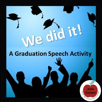 Graduation Speech - End of Year Activity