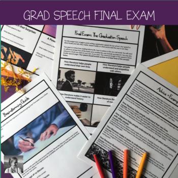 Graduation Speech Final Exam, High School ELA
