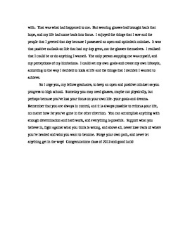 Graduation Speech Template Universal Truth By Kit Marlowe Tpt