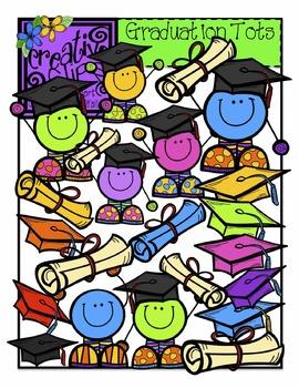 Graduation Tots {Creative Clips Digital Clipart}