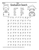 Graduation Word Search