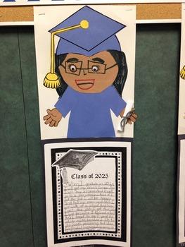 Graduation Writing Craftivity