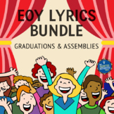 Graduation and End of the Year Song Lyrics Bundle