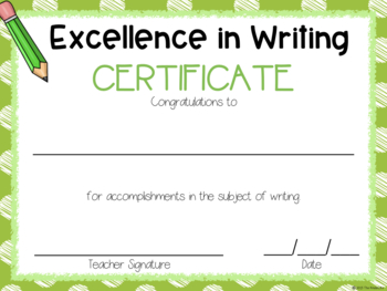 EDITABLE Graduation and Excellence in Subject & Character Certificates FREEBIE
