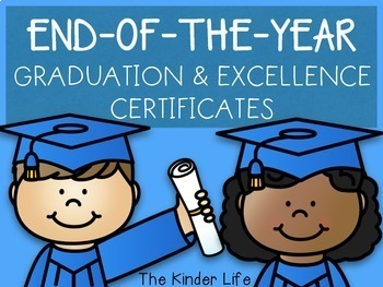 Graduation and Excellence in Subject & Character Certifica