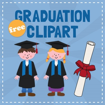 Graduation clipart freebie