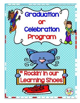 """Graduation or Celebration Program {""""Rockin' in our Learnin"""