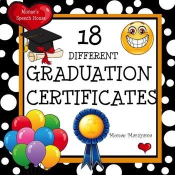 Graduaton Certificates