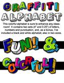 Graffiti Alphabet Bundle