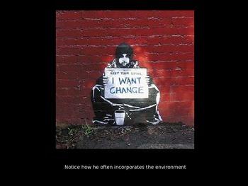 Graffiti Art: Exploring the work of Banksy